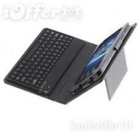 Quality PU Samsung Galaxy Tab Leather Case with Bluetooth Keyboard 10.1 Case plus Solar Charger for sale