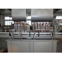 Automated Piston Filling Machines And Equipment , Bottle Filling Plant for Meat Paste