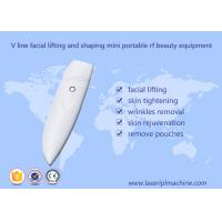 Buy cheap V Line Facial Lifting Mini Portable Rf Beauty Equipment Portable Style 1 Year from wholesalers