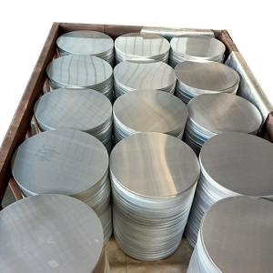 Quality 1050 HO Mill Finish Aluminium Round Plate For Cookware for sale