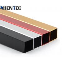 Buy cheap Anodized Aluminum Extrusin Profile / Square Shape / CNC Deep Processing from wholesalers