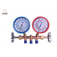 Buy OrionMotorTech 3FT AC Diagnostic Manifold Gauge Set For R134A R12 R22 R502 Refrigerants at wholesale prices