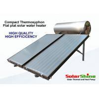 China Safety Solar Panel Hot Water Heater , Thermosiphon Solar Water Heater on sale