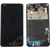 Quality samsung galaxy s2 i9100 lcd with frame for sale