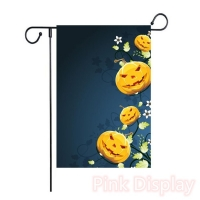 Quality 68D Polyester Interlayer Decorative Garden Flags for sale