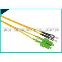China FC - LC Fiber Jumper Cables , Multimode Duplex Fiber Optic Cable 1310nm Wavelength on sale