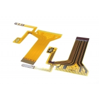 Quality Customized Flexible LCD Display FPC PCB 0.2mm 2 Layer PI Material Flexible Board for sale