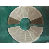 China Customized Ceramic Heater Plate For Gas Stove Fan Shape Eco - Friendly on sale