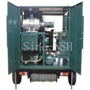 China Sino-nsh VFD transformer Oil Treatment plant on sale