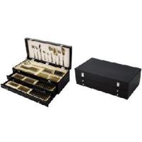 Best 125PCS Cutlery Set, Delux Wooden Case, Flatware Set wholesale