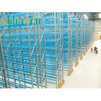 Quality High Strength Warehouse Racking System Metal Racks Spray Painting Surface Treament for sale