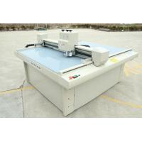 Quality Sample Corrugated Box Making Machine / Cardboard Plotter Cutter Customized Size for sale