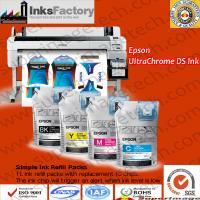 China Ultrachrome Ds Ink Pack for Epson F6070/F6080/F6280/F7000/F7200,ink pouches for Epson F6000,sublimaiton ink bag for Epso on sale