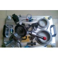 Mechanical Checking Fixture Components High Precision Aluminum Steel Material