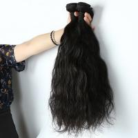 China Natural Wave Real Human Hair Extensions 3 Bundles 7A Grade Shedding Free on sale