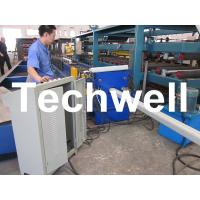 Quality PLC Frequency Control System Rainspout Roll Forming Machine for Rainwater Downpipe for sale