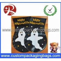 Quality Cute Ghost Plastic Treat Bags For Halloween Trick Or Treat , Shock Resistance for sale