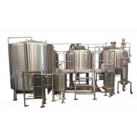 10BBL Pub Brewing Systems Steam Heating With Glycol Cooling System Eco Friendly