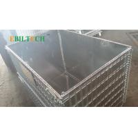 Quality Collapsible Pallet Rack Wire Decking , Wire Mesh Cage  Improve Warehouse Efficiently for sale