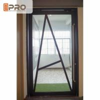 China Floor Spring Aluminum Pivot Doors For Interior House Customized Size on sale