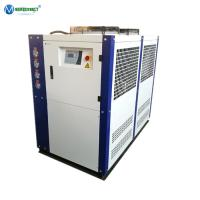 Quality 5000L Fermentation Tank Industrial 25HP CE Glycol Air Cooled Scroll Chiller Machine Air Cool Glycol Chiller for sale