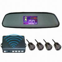 Quality Wireless LCD Parking Sensor On Rear-view Mirror  for sale