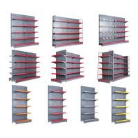 Quality Durable Grocery Store Display Racks  /  Multi Combination Store Display Fixtures To Wall for sale