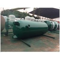 Buy cheap Large Volume Compressed Air Storage Tank , 8 Bar - 40 Bar Portable Air Compressor Tank from wholesalers