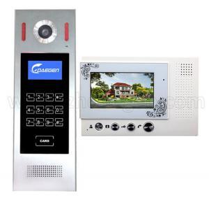 Quality Camera With Intercom Video Door Phone Remotely Unlock Building Doorbell Visual Door Calling Panel Intercom Doorbell for sale