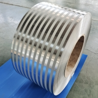 Quality PE PVC Coated 3105 Thin Aluminium Strip Roll 0.5mm 2mm 3mm Thick For Ppr Pipe for sale