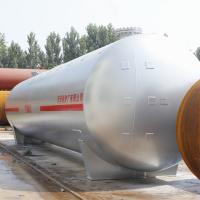 Quality Gas station used 60m3 horizontal LPG storage tank with carbon steel for sale