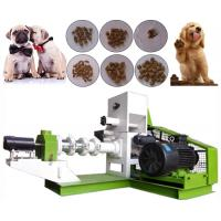 Quality Pet Dog Fish Feed Production Line Easy Operation 1t/H - 3t/H  12 Months Warranty for sale