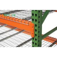 Quality Metal Teardrop Pallet Rack Uprights , Selective Pallet Racking Systems America & Europe Style for sale