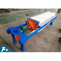 China PP Material Plate Chamber Filter Press 15m2 Filtration Area 450 * 450mm on sale
