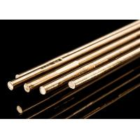 Quality Copper Alloy Brass Brazing Rod 4 Mm Welding Rod For Stainless Steel HS221 Model for sale