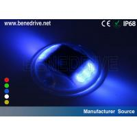 Quality Round Plastic Solar Road Stud Dia.118mm Anti Pressured CE ROHS Certificated for sale