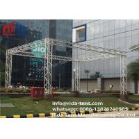 Buy cheap 400 X 600mm 6082 6061 Aluminum Lighting Truss System , Line Array Truss from wholesalers