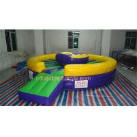 Best Commercial Safety Inflatable Sports Games Inflatable Mechanical Bull wholesale