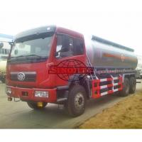 Buy cheap 15 - 20 Tons Fuel Oil Delivery Truck , FAW J5P Cabin Fuel Delivery Truck from wholesalers