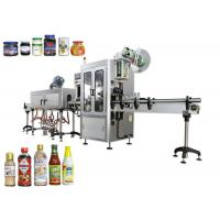 Buy cheap Small Capacity Shrink Sleeve Labeling Machine , Sleeve Applicator Machine For from wholesalers