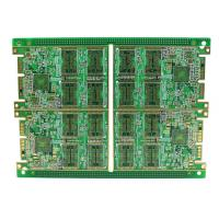 Quality Rigid Multilayer PCB , High Density 8 Layer Immersion Gold PCB Automatic Control Circuit Design for sale
