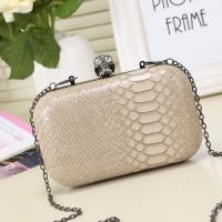 Quality Guangzhou handbag factory hot sell makeup bag imported from China clip box bag for sale