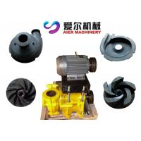 Quality Mineral Process Coal Washing Mining Slurry Pump Motor / Diesel Engine Fuel for sale
