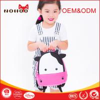 Quality NOHOO Shockproof Kids Cow Backpack For 2 Year Old Boy 5-6L Capacity for sale