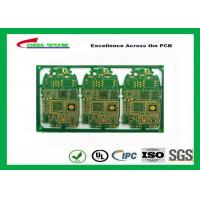 Quality HDI 6L FR4 1mm Immersion Gold PCB Engineering for Cell Phone / Mobile Phone for sale