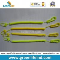Quality Light Weight Slim Coiled Cheap Bungee Cord for Connecting Function Yellow color for sale