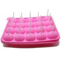 Quality 20 Holes Cake Lollipop Molds Silicone Ice Tray Lollipop Chocolate Mold for sale