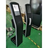 Quality Floor Standing Capacitive Touch Screen Kiosk 12.1'' THERMAL Printer For Order Payment for sale