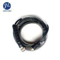Quality Male To Male Rear View Camera Cable , 4 Pin Rear Backup Plug Aviation Reversing Camera Trailer Cable for sale
