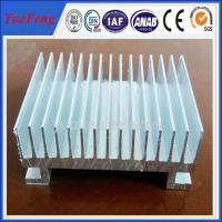 Quality Custom Aluminium Cooler Extrusions, aluminum profiles used in radiator for sale